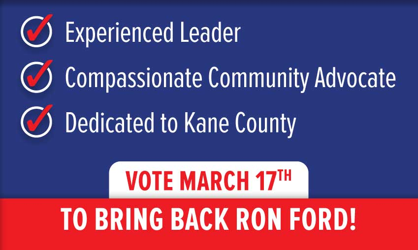 Elect Ron Ford March 17th
